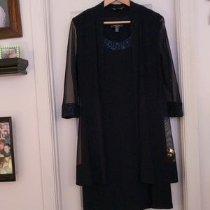 Women's dress and swing jacket. Worn once. thanks